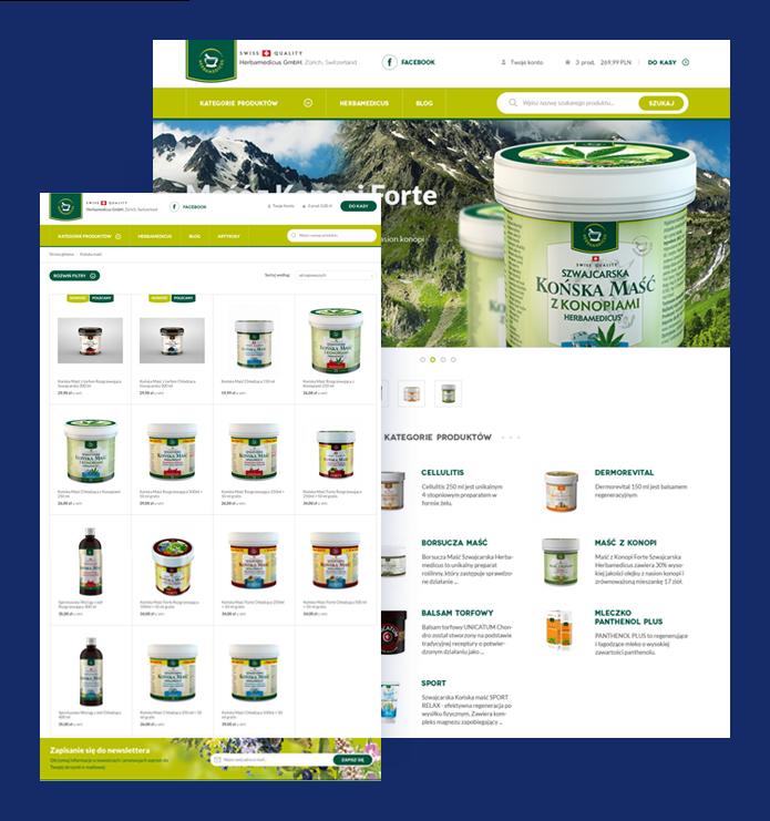 ba2c53f2f734e3 Case Study e-commerce Herbamedicus