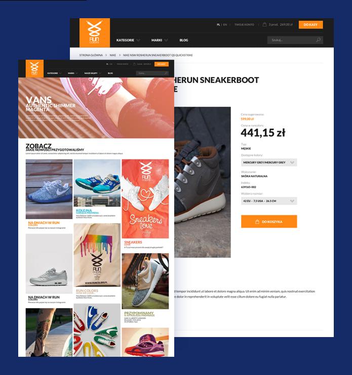 4dd2af0eb60bd2 Case Study e-commerce Run Colors